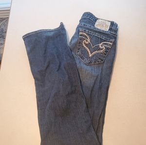 Big Star Remy low rise  jeans sz 25L